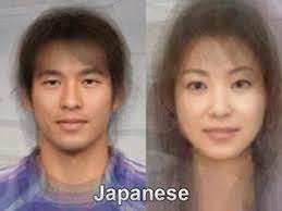 【画像】日本人の男女各5000万人を平均した顔がコチラ・・・・・
