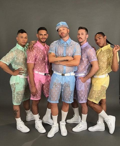 男性向けのレースの服がアメリカで登場 世間の評価は微妙 (※画像あり)