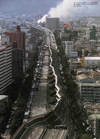 【画像】阪神淡路大震災、凄まじすぎだろ…