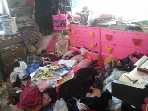 妹の部屋汚すぎワロタwwwwwwwwwwwwwww (※画像あり)