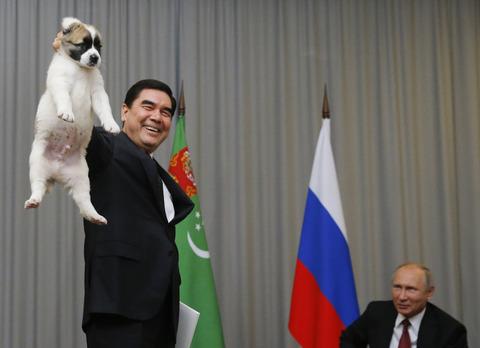 【朗報】プーチン大統領、ガイジーヌをプレゼントされ喜ぶwwwwww (※画像あり)
