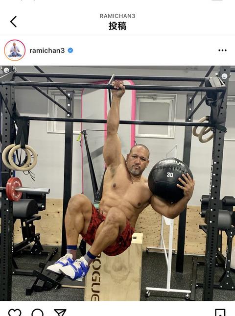 アレックス・ラミレス(46)の肉体wwwww (※画像あり)