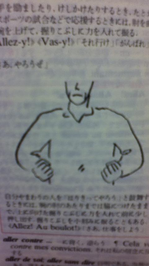 フランス語辞書 挿絵 画像