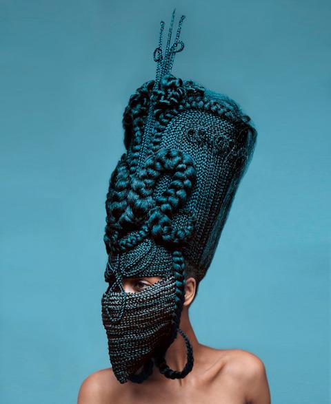 髪の毛のマスク