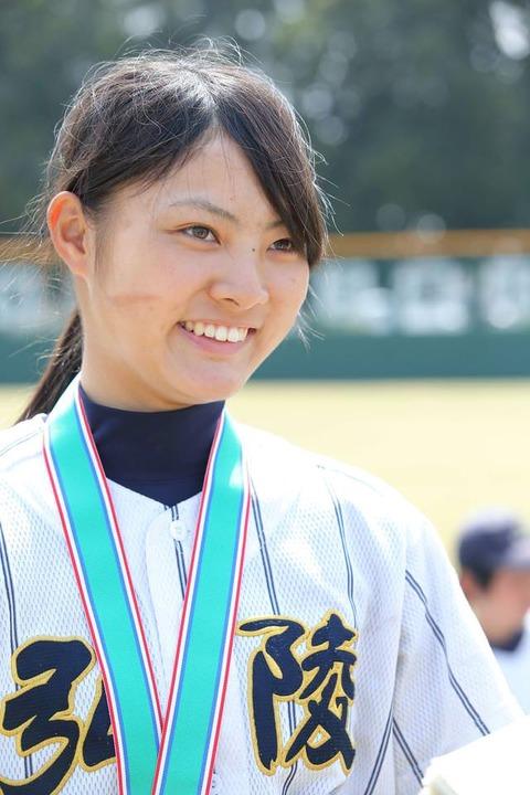 【朗報】美しすぎる女子高校球児、発見される (※画像あり)