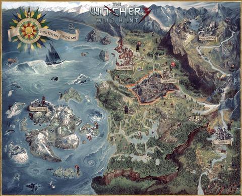 ゲームの架空の地図ってええよな(※画像あり)