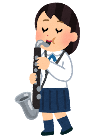 suisougaku_bass_clarinet_woman