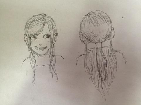 【画像あり】女の子の一番かわいい髪型決定しましたwwwwwwwwwwwwwwwwwwwwwwwwwwwwwwwwwww
