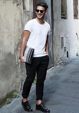 上シャツ一枚だけでもカッコいい外国人のファッション画像wwwwwwwwww