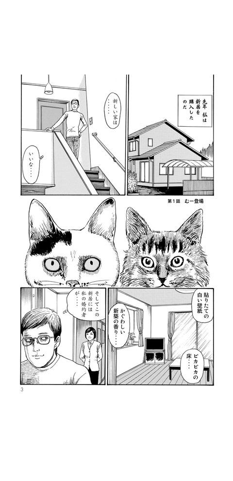 【画像】犬派のホラー漫画家が猫を飼う事になり発狂