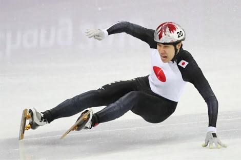 【恥報】日本人オリンピック選手さん、世界の大舞台で勝手に吹っ飛び壁に激突、やりたい放題でもうめちゃくちゃwwwwwwwwww