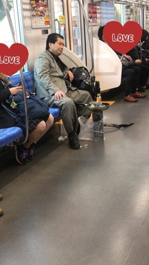電車にヤベー奴いたwwwwwwwwwwwwwwwwwwwwwwwwwwwwwwwwwwwwwwwwwwwwwwwwwwwwww