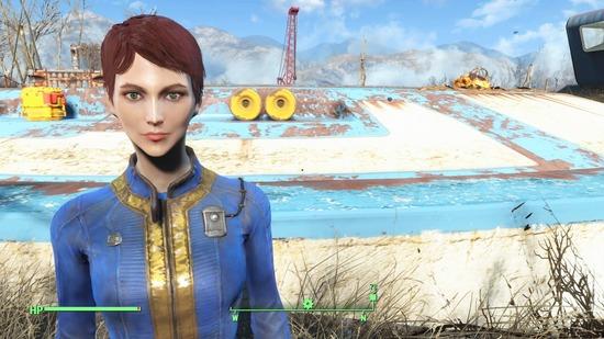 Fallout 4(フォールアウト4)女性3