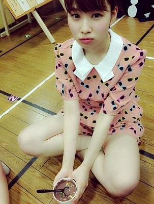 【NMB48】小笠原茉由「まっくろくろすけみたいだけどおいしくて」