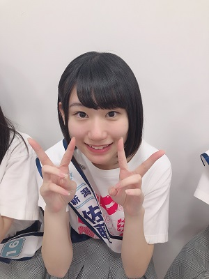 NGT48】佐藤海里がNGTに入る前に見た舞台裏の荻野由佳。運命を感じる二 ...