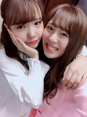 【HKT48】HKT2期生として入る前に出会っていた渕上舞と坂口理子。オーディションで偶然の再開&後輩と同室になったとき気を遣わせないためには自分を優先するのが一番?