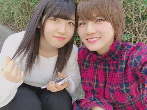 【AKB48】イケメン岡田奈々。先輩に対して彼氏のような対応