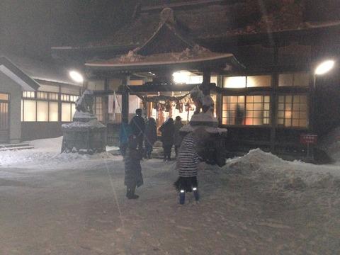 月山神社2014-1