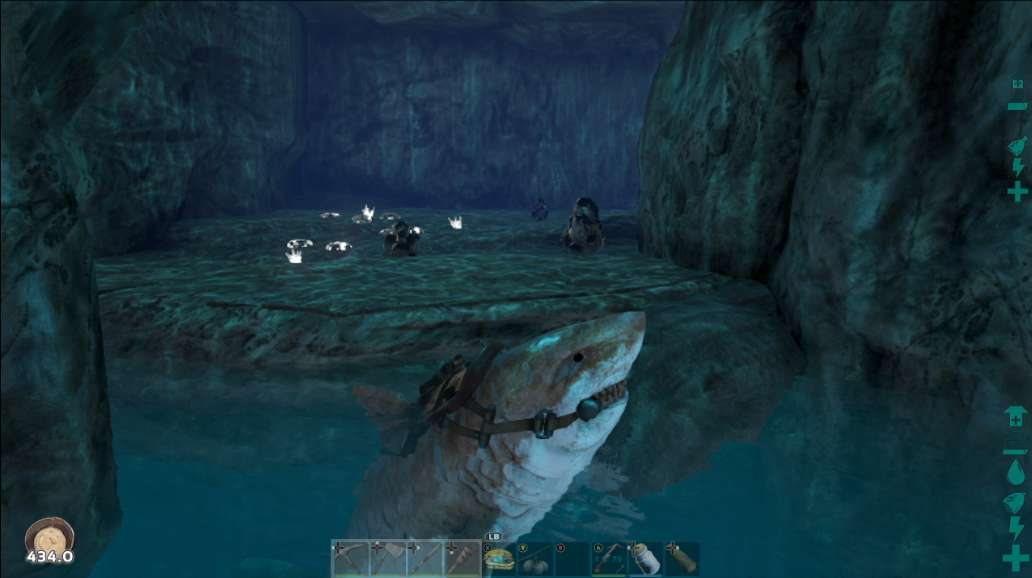 アーク 洞窟