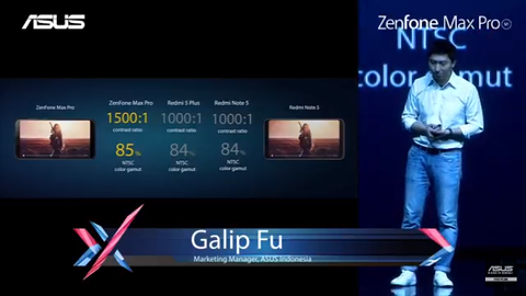 ZenFone Max Pro M1 インドネシア発表会