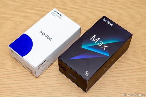 AQUOS sense2 ZenFone Max M2