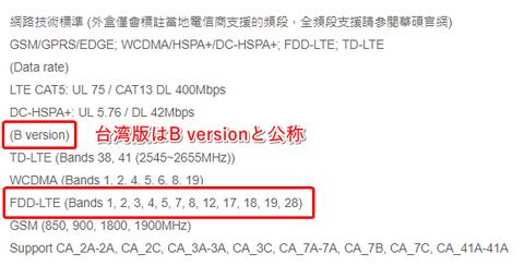 ZenFone Max Pro M2 対応バンド問題 (2)