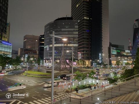 ZenFone 6 夜景モードで撮影 (1)