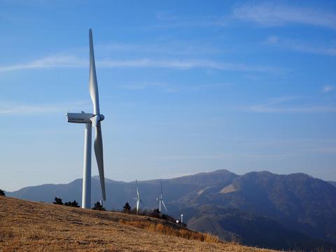 横から風車