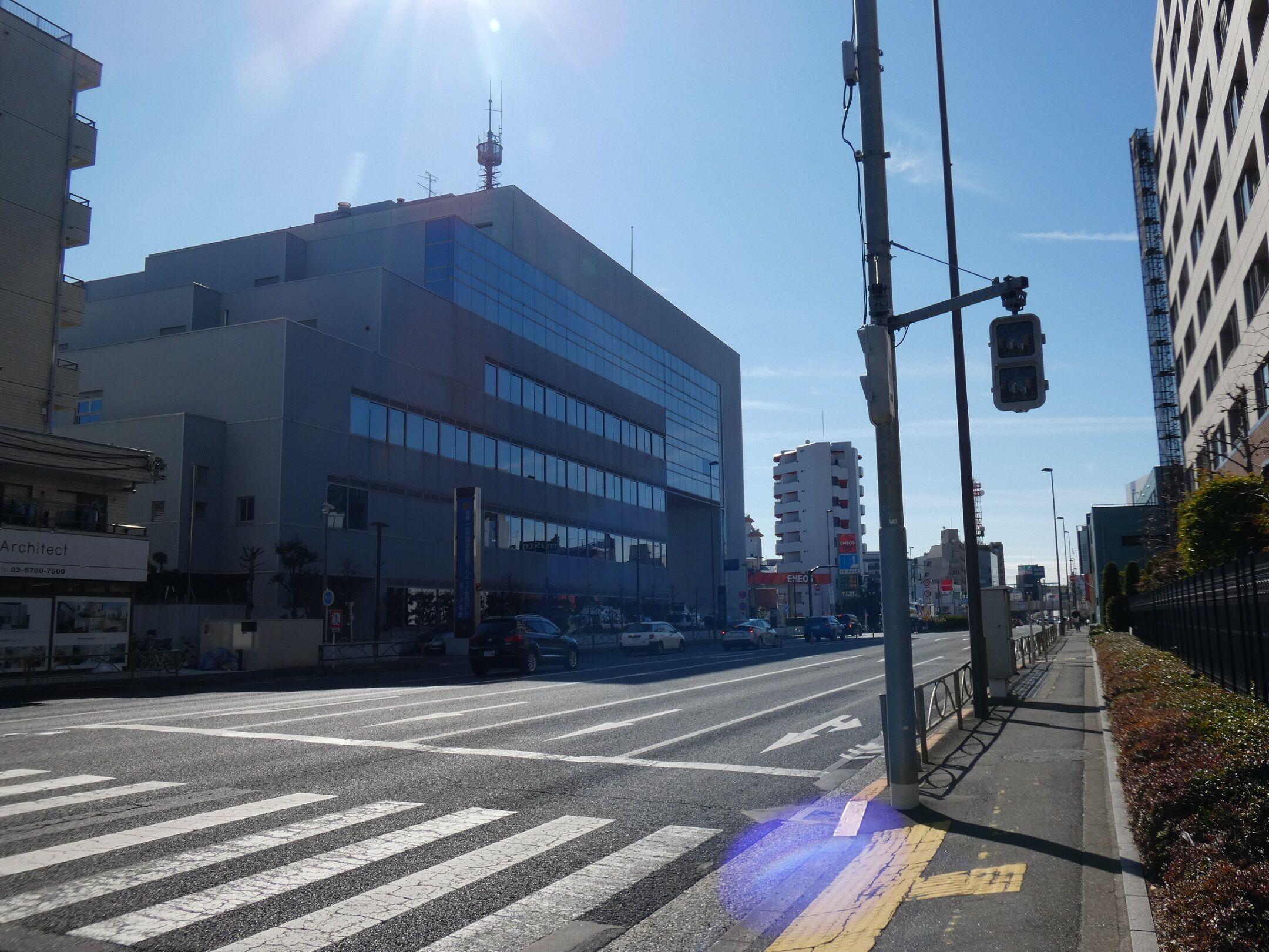 下北沢X物語(3936)―池上警察署のダイダラボッチ― : Web東京荏原都市 ...