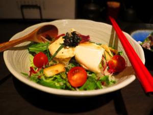 縁 豆腐サラダ