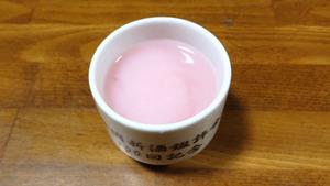 白瀑 どピンクの色