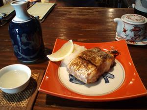 太刀魚(塩焼き)