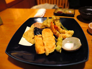 裏や 海鮮・季節野菜の天ぷら