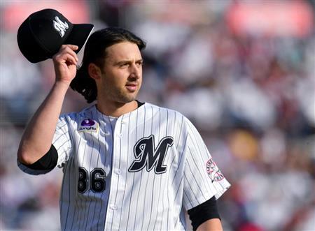 【野球】ロッテ、ボルシンガー残留へ 球団早くも選択権行使明言「残ってもらいたい」