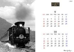 2010年9月10月カレンダー