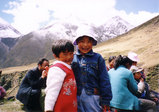 チベットの子供