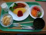『カスケイド』朝食