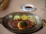 ピリ辛ステーキ(ポン酢ソース)