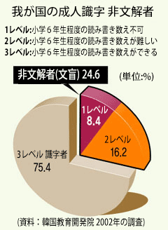 機能性文盲2002