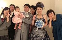 弟の結婚式!