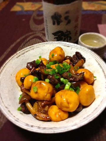 甲府風鶏もつ煮