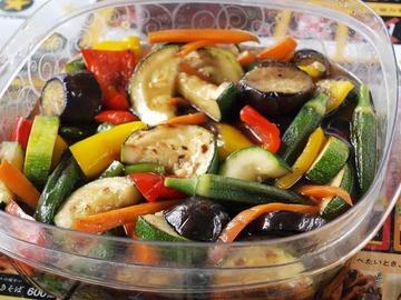 夏野菜の簡単焼き浸し