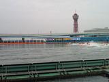 福岡競艇場の1マーク