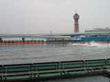 BOATBoyカップ3日目3Rの福岡競艇場1M