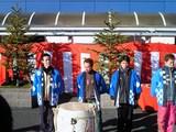 鏡割りにも参加した江戸川鉄兵