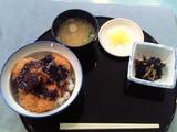 BP習志野三国ご当地メニューのソースカツ丼