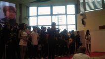 中野ジローによる選手宣誓