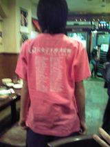 下関女子王座開催記念Tシャツ