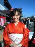 着物姿が似合ってた田島美生アナ