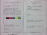 女子リーグ選抜総選挙投票用紙見本
